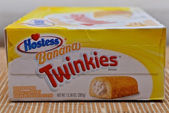 Twinkies - Banana Twinkies - Twinkie - Golden sponge cake with creamy filling - Banane - Gâteau - Snack - USA - America - Cake - Dessert - Twinkies à la banane