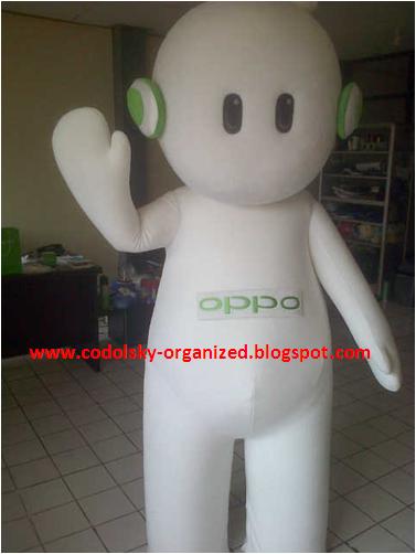 Badut Maskot, Baju Karakter, Kostum Promosi, dan boneka yang dipakai orang