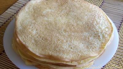 Clatite cu branza dulce si stafide - etapa5.1