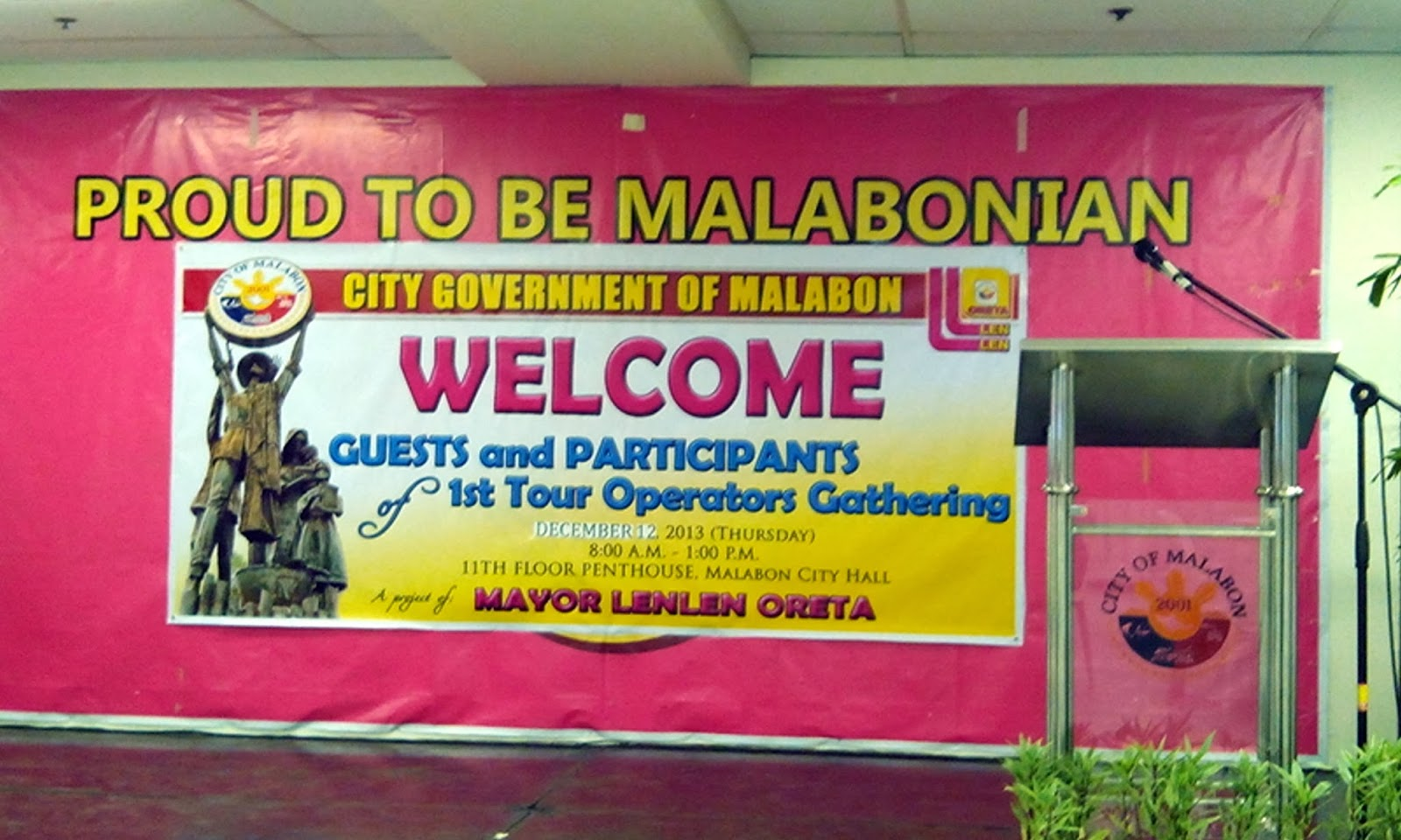 Bloggers Join In Welcoming U S Cultural Affairs Officers: Lakwatserong Opis Worker: City Government Of Malabon: 1st