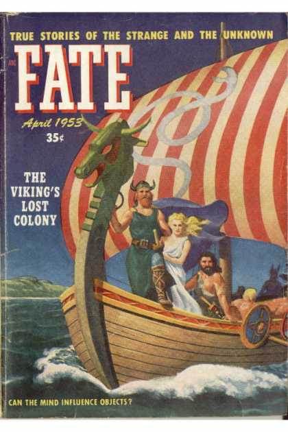 Vintage FATE Magazine Covers in 1940s50s  vintage everyday