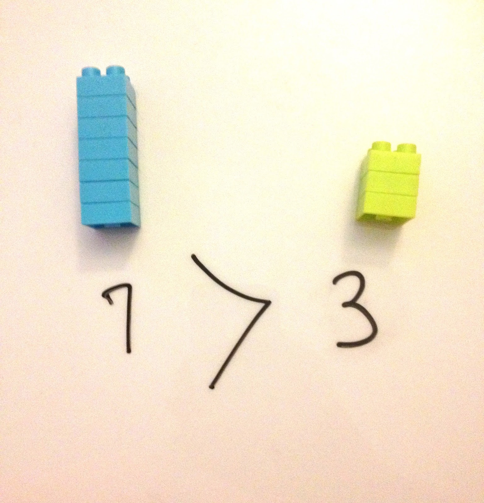 Abc remix comparing numbers stack up blocks next to each other and ask your child which one contains more then demonstrate how the greater thanless than symbol biocorpaavc Images