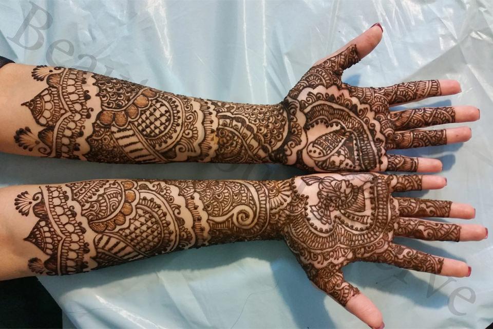 Simple Arabic Henna Mehndi Designs For Hands Unique Mehndi Design