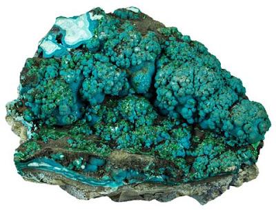 cristales botroidales de crisocola | foro de minerales
