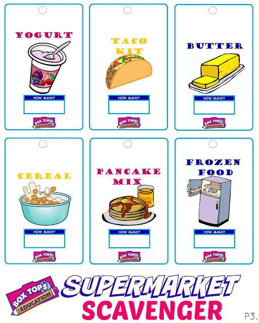 One Savvy Mom ™ NYC Area Mom Blog Supermarket Scavenger Kids