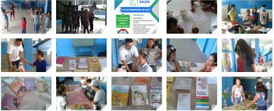 Circuito Saúde trabalha educação preventiva em Saúde na Escola da Família da Escola Yolanda