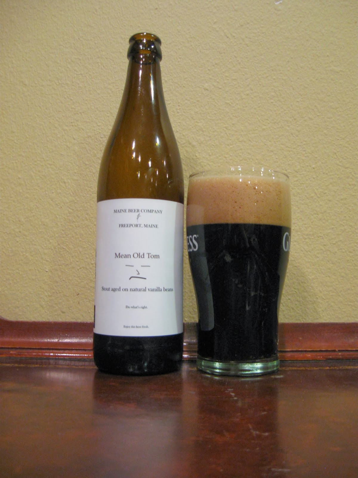 Doing Beer Justice: Maine Beer Company Mean Old Tom