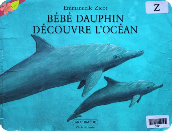 """""""Bébé dauphin découvre l'océan"""" d'Emmanuelle Zicot"""