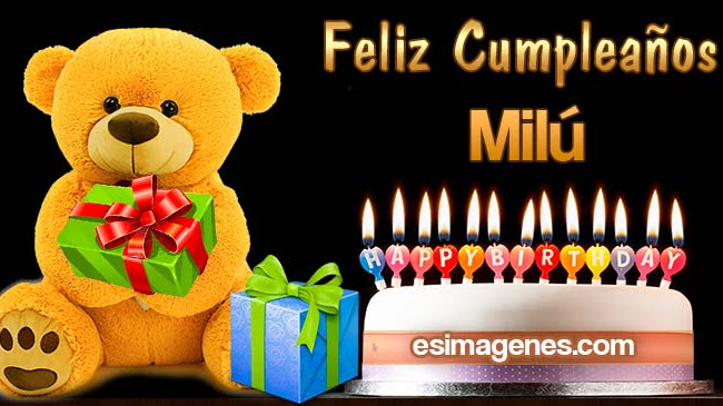 Feliz Cumpleaños Milú