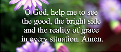 help me to see the good