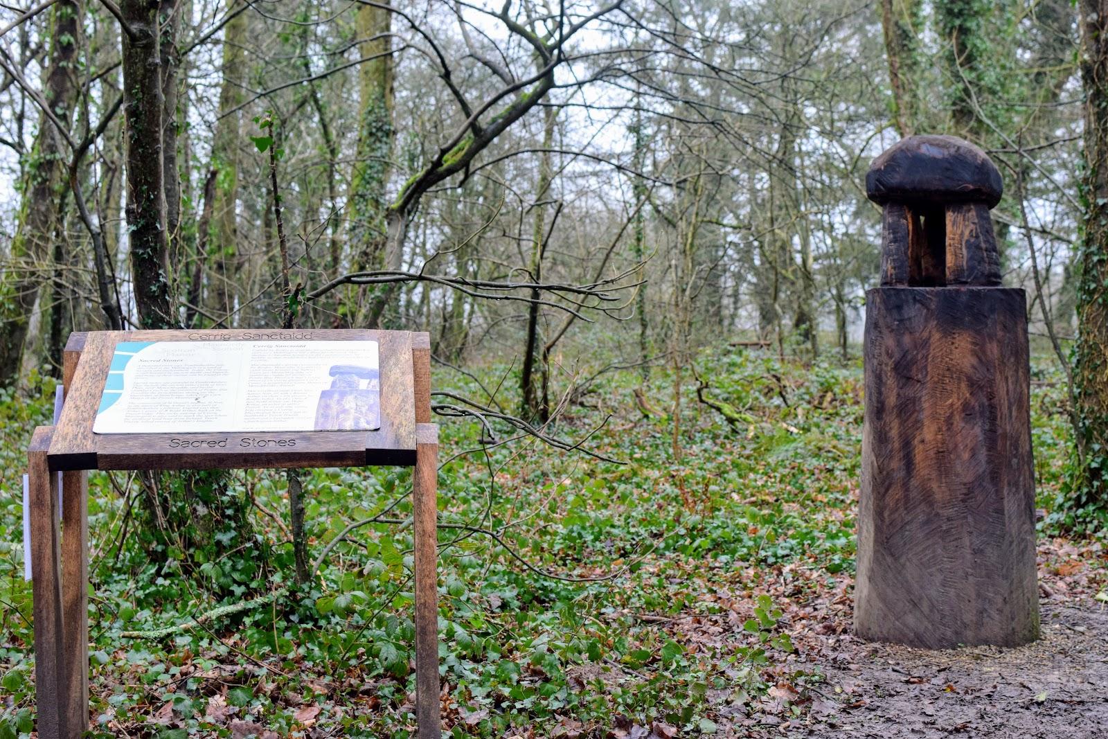 , Scolton Manor:  Myths and Legends Sculpture Trail, Pembrokeshire