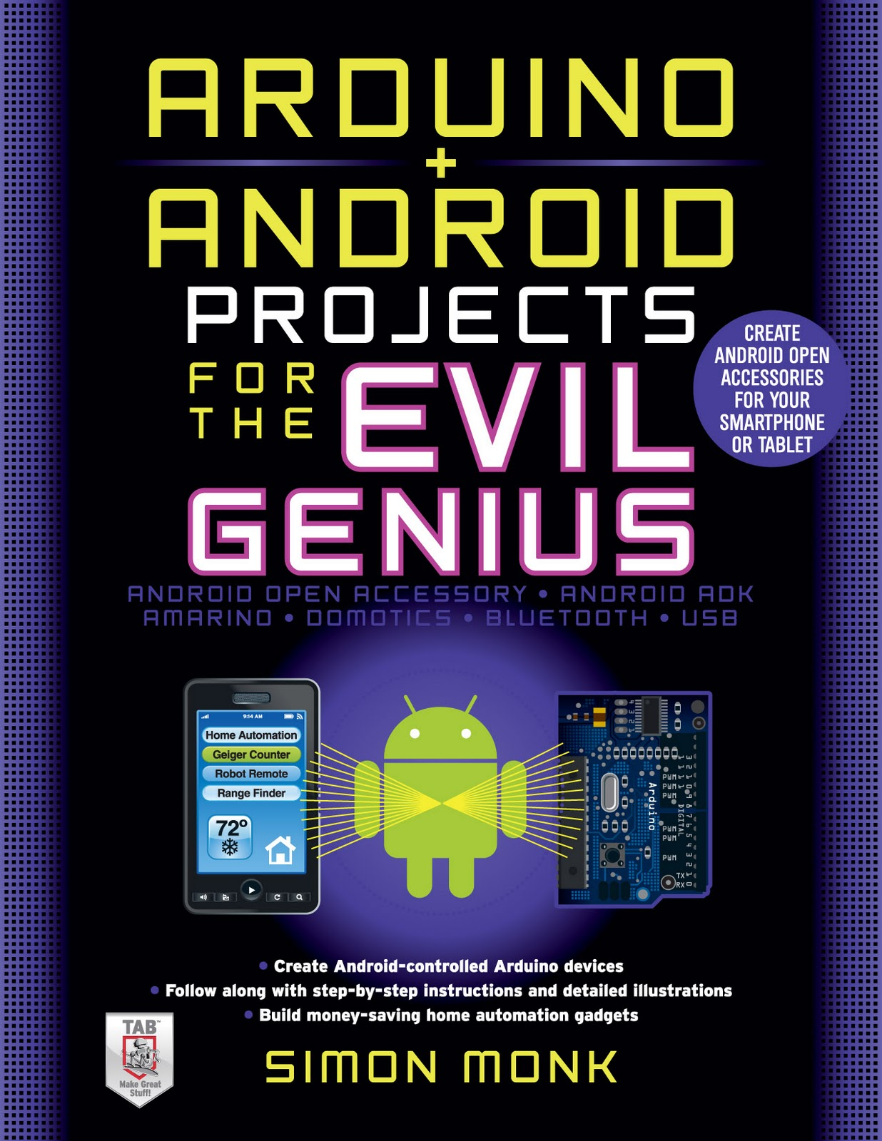 Dr  Monk's DIY Electronics Blog: Arduino + Android Projects