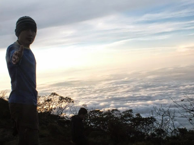 Samudra diatas Awan Gunung Ciremai
