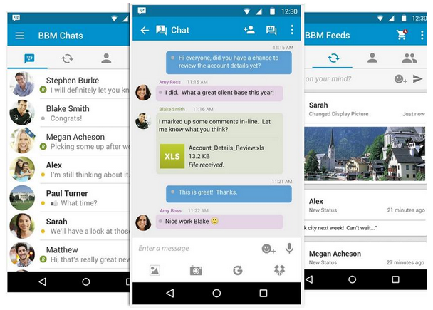 BlackBerry Messenger 2017 Software for Android Free ...