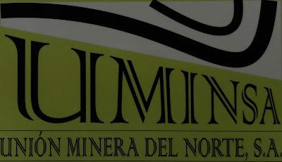 Logotipo de UMINSA, la última empresa en explotar las minas de Barruelo