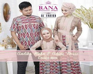 baju batik untuk foto keluarga