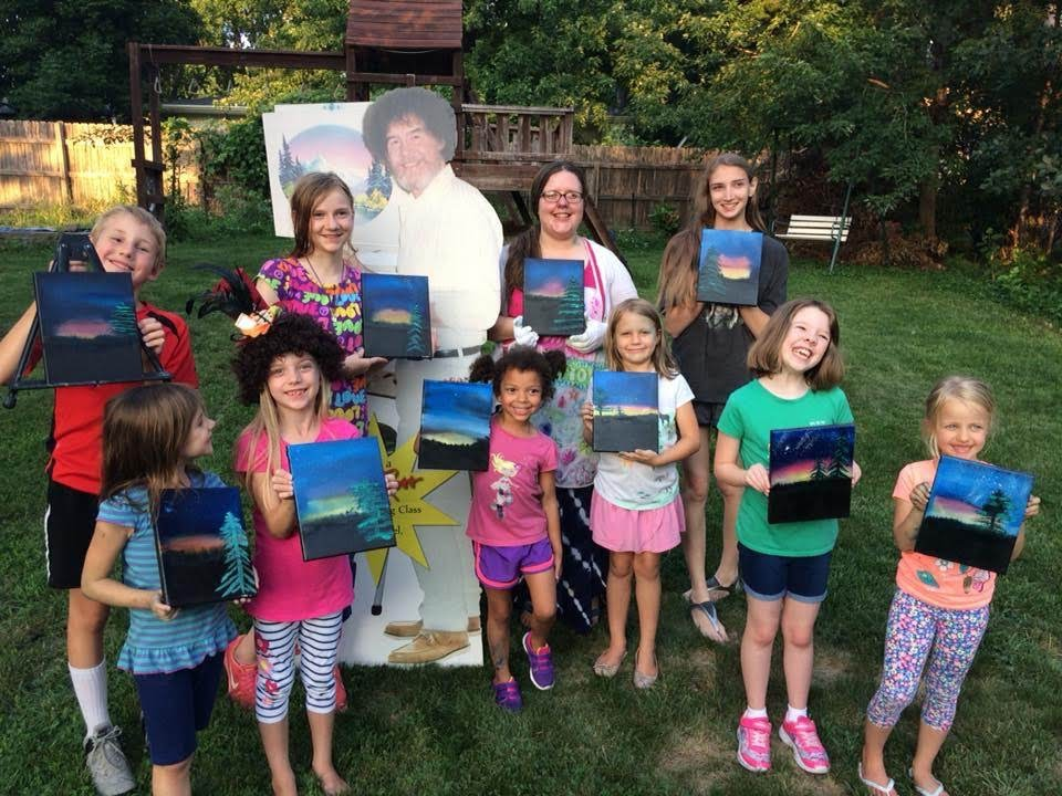 Cassel Creations A Birthday Party And A Summer Art Camp
