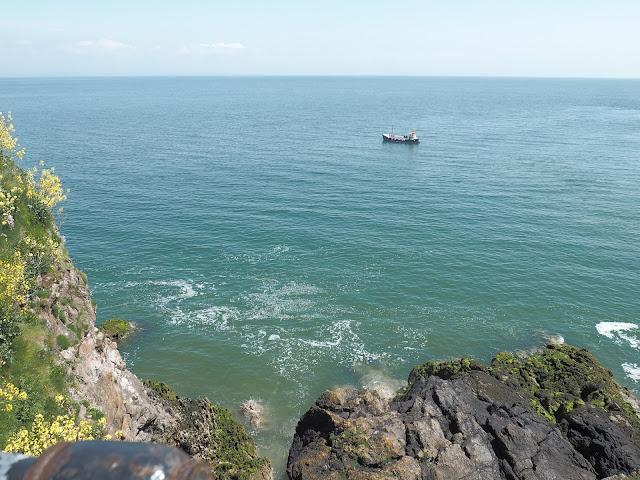 Tenby Boat Sea