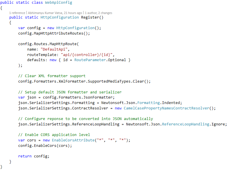 Self referencing loop detected for property 'xxxx' with type