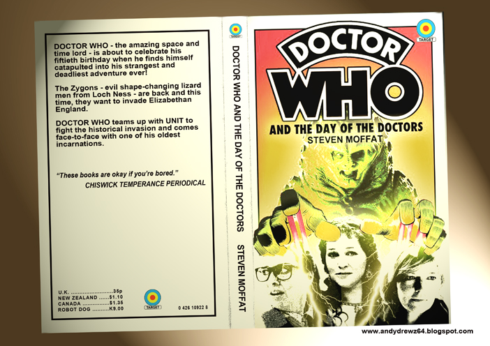 Book Covering Contact Target : Andydrewz s pages doctor who and the return of target