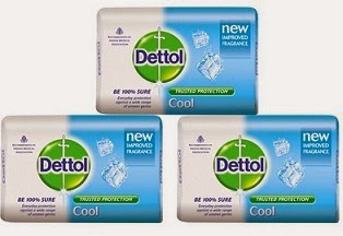 WTF Deal: Buy Dettol Cool Soap 125 Grms – Pack Of 3 worth Rs.111 for Rs.89 with Free Shipping at Pepperfry