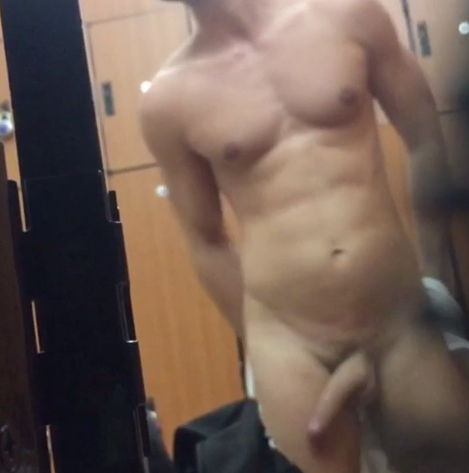 locker room boner