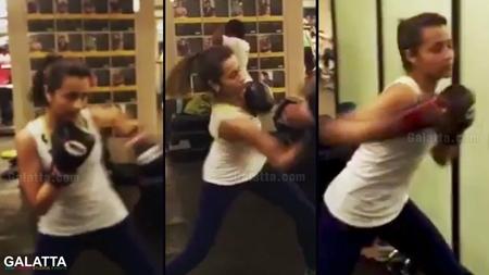 Final Round 2 – Preparing Trisha Boxing training | Trisha Boxing Practice