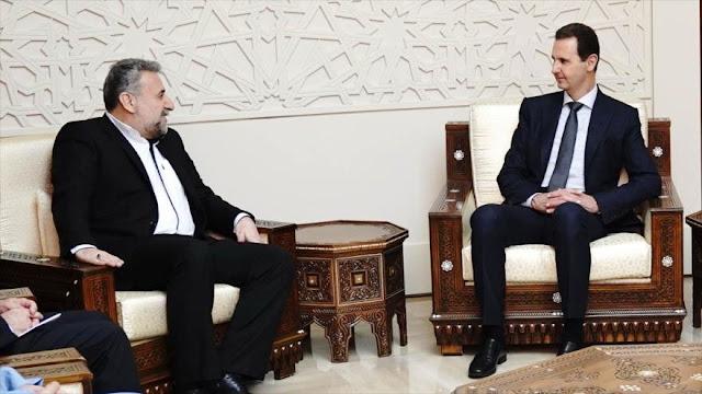 Al-Asad insiste en estrechar coordinaciones entre Siria e Irán