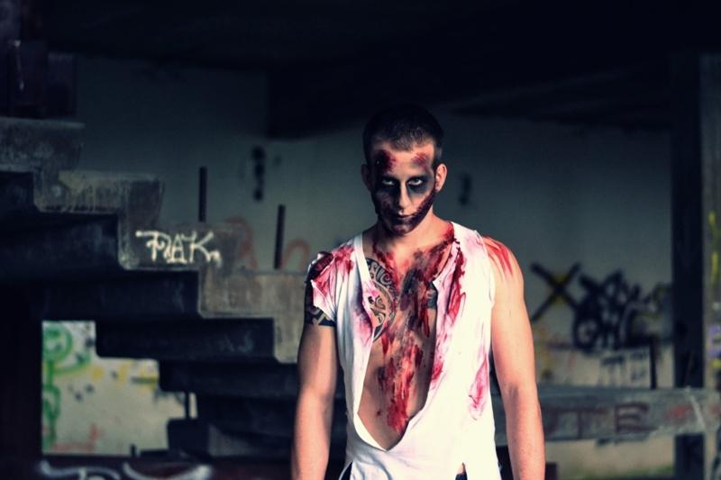Halloween-Makeup-Männer-Zombie