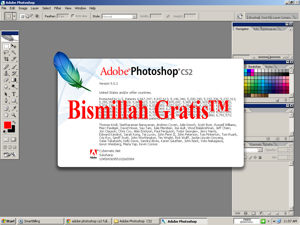 Adobe Photoshop CS2 9 0 Full Version Crack Keygen 2013