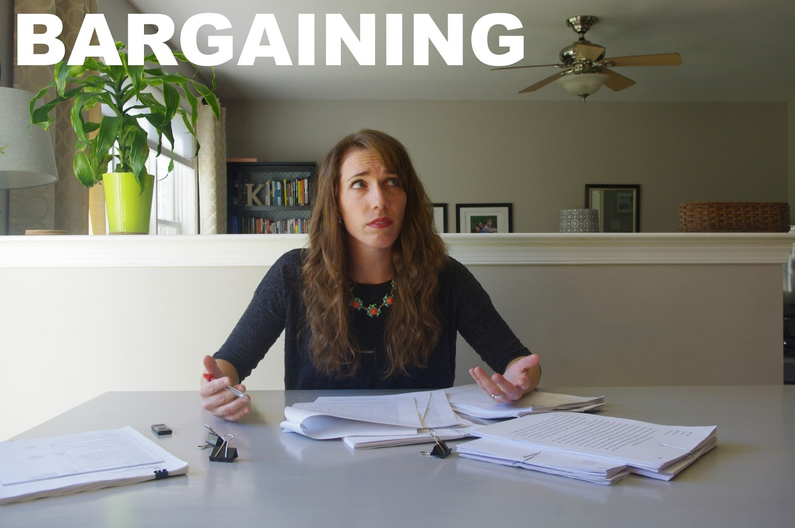 The Five Stages of Essay Grading Grief: Bargaining