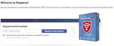 Steganos Online Shield VPN free for 1 Year with License Key