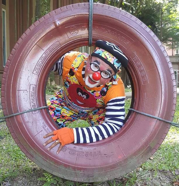 birthday party clown package