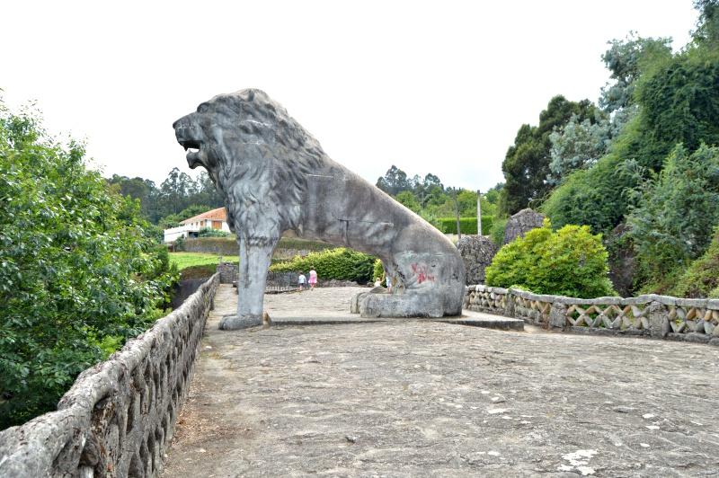 león parque do pasatempo en betanzos