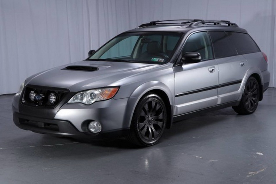 Subaru Legacy Outback >> Rare Turbo Manual 2008 Subaru Outback XT Could Be Your ...