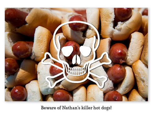 Nathan S Hot Dog Font