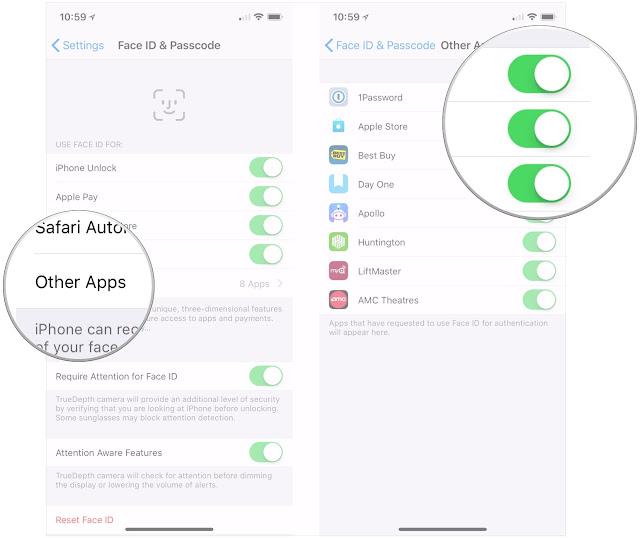 Cara menggunakan dan mengatur Face ID di iPhone X