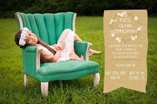 *lyssa beth*: Kate's Baptism Announcement