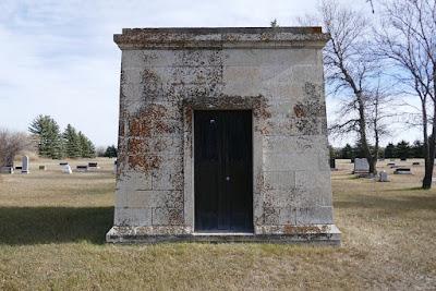 cemetery, Lang, Saskatchewan, mausoleum, pioneer