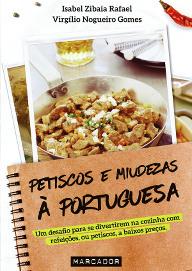 Capa do livro Petiscos e Miudezas à Portuguesa