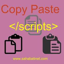 Cara Memasang Scripts Anti Copy paste Di Blog 100% Works