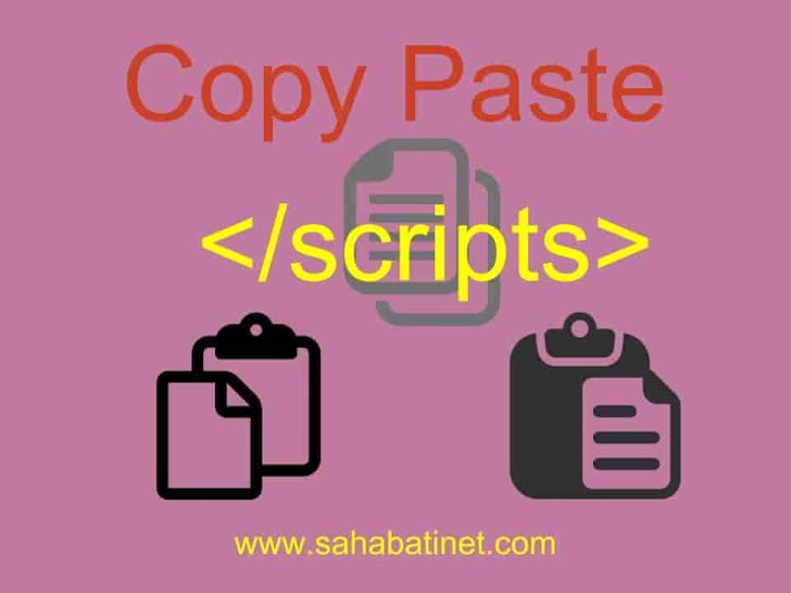 Cara Memasang Scripts Anti Copy paste Di Blog 100% Works