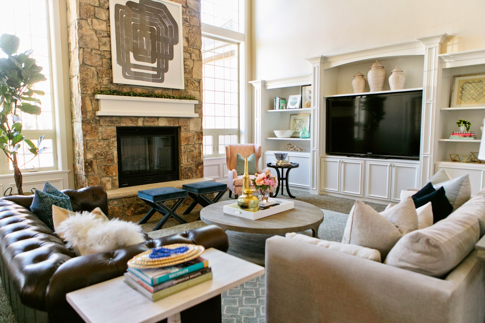 how to arrange living room with tv above fireplace dividers the riverside house - reveal of jade ...