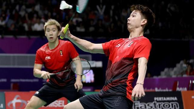 Lolos Ke Babak Final Kevin/Marcus Mengalahkan Pasangan Taiwan