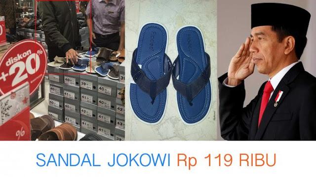 Harga Sandal Fladeo Biru Jokowi Terbaru, Merek Sandal Biru Joko Widodo, Cara Membeli Sandal Fladeo Jokowi Ori.