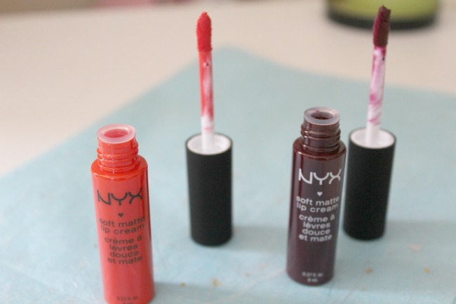 NYX Haul - liquid lipsticks and brows. Nourish ME: www.nourishmeblog.co.uk