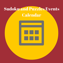 Puzzles and Sudoku Championships Calendar
