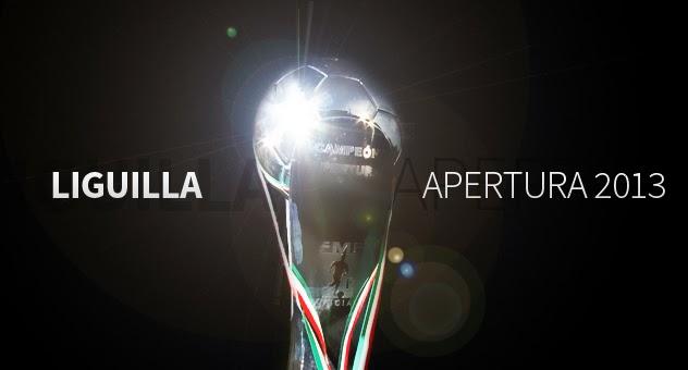 6b75af89e63ff Póster oficial de la Liguilla del torneo Apertura 2013 del futbol mexicano  de México