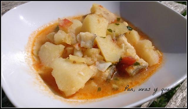 Guisao de patatas con bacalao cocina y thermomix for Cocina bacalao con patatas