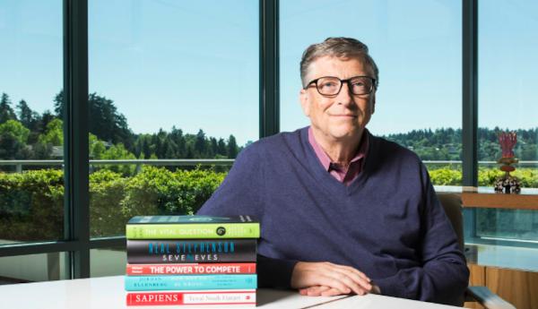 比爾·蓋茲公布夏日書單!讓他廢寢忘眠的是這五本書|數位時代